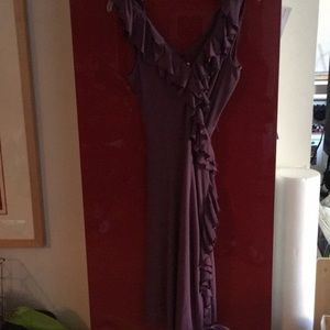Wrap dress. Suzi Chin for Maggy Boutique